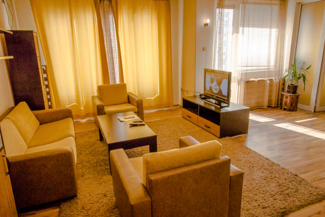 self catering 1 bedroom Sofia center, Vitosha Blvd 1