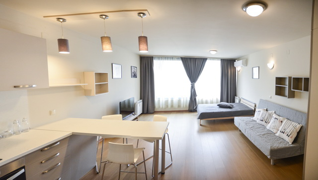 Luxury studio for rent with garage Sofia center 1
