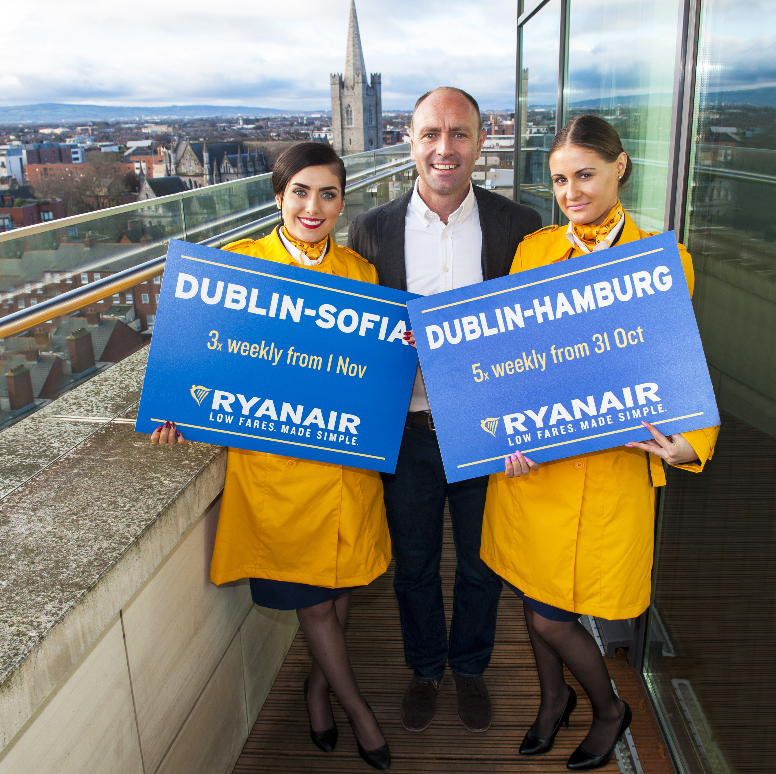 Ryanair Launching a New Route To Sofia For Its Dublin Winter 2016 Schedule