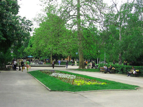 The City Garden in Sofia